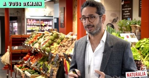 Allon Zeitoun, directeur général de Naturalia sur A Vous Demain